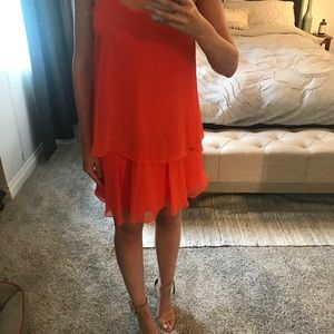 ASOS tiered cocktail dress
